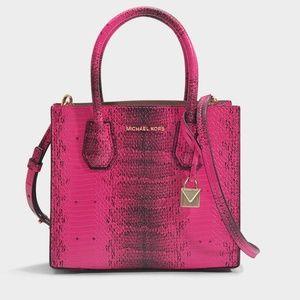 8a2008072758c8 Michael Kors Bags - MICHAEL KORS Medium Mercer Crossbody Hand Bag